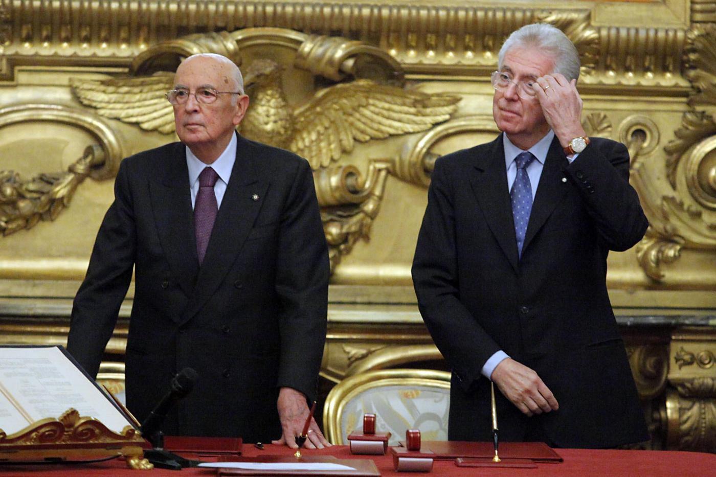 Napolitano puntella Monti: La riforma del lavoro va fatta, nessun licenziamento facile
