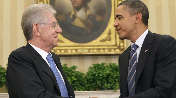 Crisi, Monti: Senza il decreto Salva Italia avremmo perso sovranità. E il Premier vola a New York per il vertice Onu, stasera cena con Obama