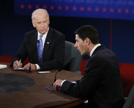 Dibattito infuocato, Biden aggressivo incalza il calmo Ryan. Sondaggi contrastanti. La Cnn incorona Ryan ma Biden vince per Cnbc e Cbs