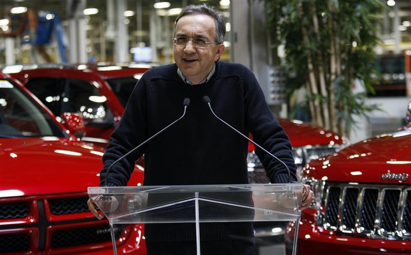 Chrysler-Fiat, Marchionne: Fusione inevitabile nel 2014. Ma l'Alfa Romeo non è in vendita