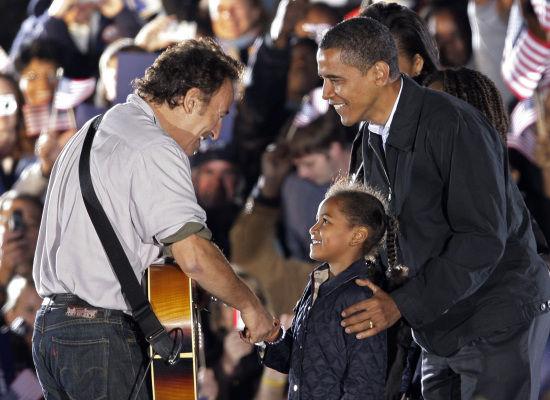 L'America al voto. Il Boss con Obama: Difendo i vostri sogni. Romney: Ruggiremo