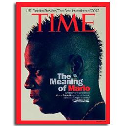 """L'importanza di chiamarsi Mario. Balottelli conquista la copertina di Time. """"Spero di incontrare Obama"""""""
