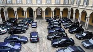 Auto blu, a Sud non interessano i tagli del governo. Marsala ne possiede 81