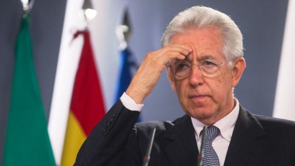 """Monti va stasera al Colle per dimettersi. """"Il governo termina non per colpa dei Maya"""""""