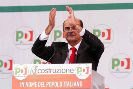Bersani è il nuovo candidato premier: 61% di preferenze. Renzi: Era giusto provarci