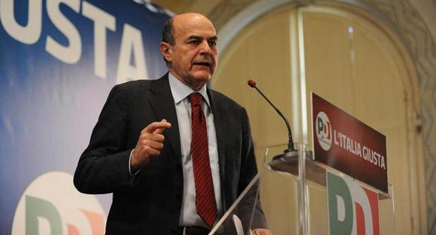 Mps, Bersani duro con Pdl e Lega: Se ci accusano di scorrettezze li sbraniamo