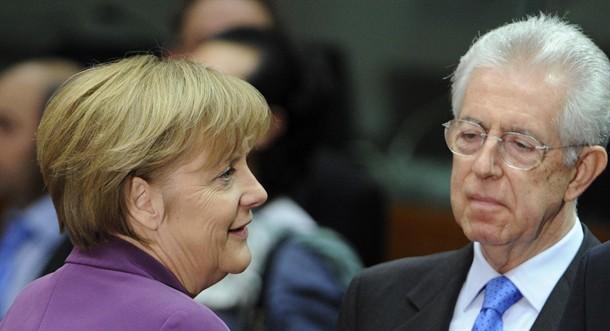 Monti: La Merkel non vuole il Pd al governo. Ma Berlino smentisce: Mai fatti commenti