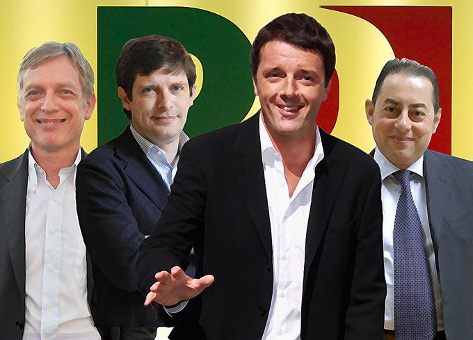 """Convenzione Pd, confronto tra i tre sfidanti. Renzi in testa sfida Letta: """"Ora il governo adotti le nostre idee"""""""