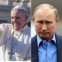 Nobel per la Pace, candidato Papa Francesco e tra i nomi spunta a sorpresa anche Putin