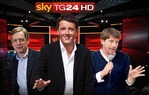 Flop di ascolti per i tre moschettieri del Pd: il confronto su Sky fra Renzi, Cuperlo e Civati delude le attese