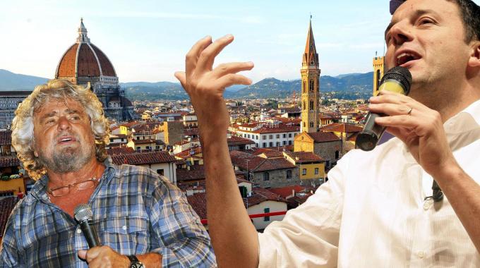 Le tre mosse di Renzi per sfidare Grillo su legge elettorale e tagli ai costi della politica