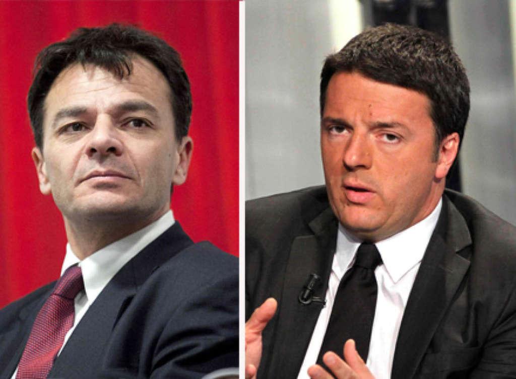 """Renzi: """"Con Berlusconi tutto alla luce del sole"""" Fassina duro: """"Mi sono vergognato"""""""
