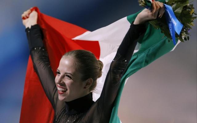 Sochi, grande Carolina Kostner:  sensuale e sicura conquista il bronzo alla sua ultima olimpiade