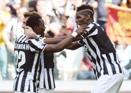 Goal di Asamoha segna la vendetta della Juventus sulla Fiorentina (1-0). Lazio affonda in casa