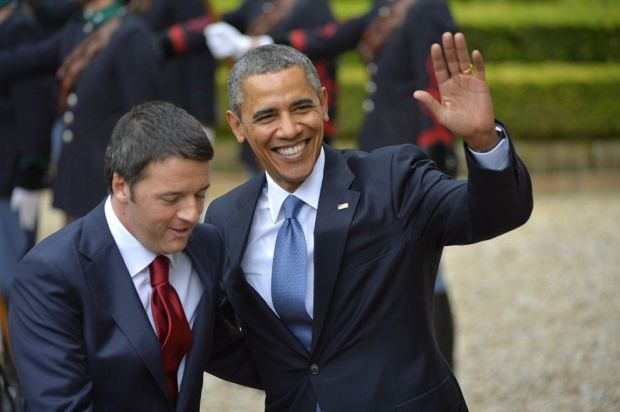 "Renzi ad Obama: ""Yes we can"" e il presidente Usa lo invita alla Casa Bianca: ""Mi fido di Matteo"""