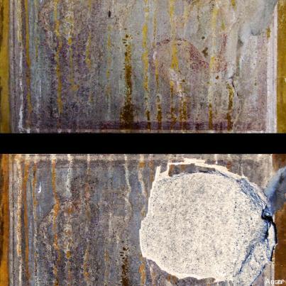 Scavi di Pompei, rubato affresco di Artemide