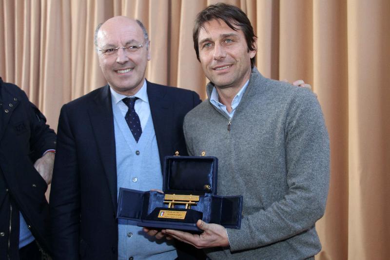 Calcio, a Conte la Panchina D'Oro per il secondo anno di fila
