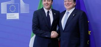 """Vertice Ue, seconda giornata di incontri per Matteo Renzi che annuncia: """"Non alzerò le tasse"""""""