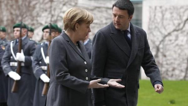 """Berlino, Matteo incassa la benedizione della Merkel: """"Con Renzi un cambio strutturale"""""""