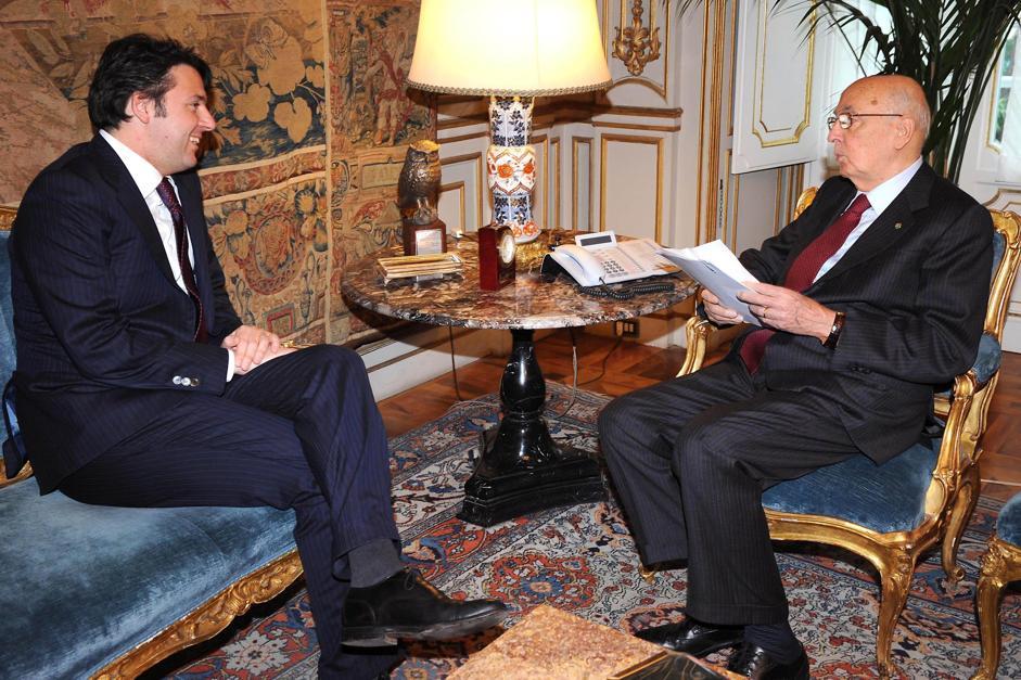 """Riforme, Renzi a colloquio da Napolitano. Berlusconi: """"La par condicio è una legge contra personam, contro di me"""""""