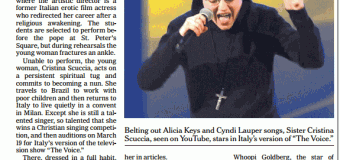 Suor Cristina sulla prima pagina del New York Times grazie a The Voice | Video