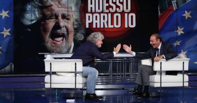 Grillo torna in Rai dopo 21 anni, 4 milioni 276mila spettatori