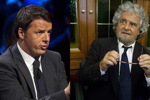Europee, exit pool: Renzi vola oltre il 35%, dieci punti di distacco da Grillo al 25,5. Crolla Berlusconi: 17%