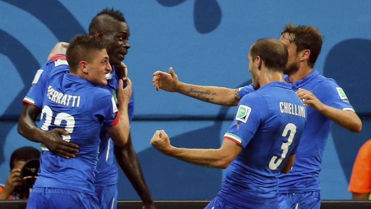 """Mondiali Brasile, Prandelli esulta: """"E' stata una partita epica che ricorderemo a lungo"""". Balotelli premiato """"man of the match"""""""