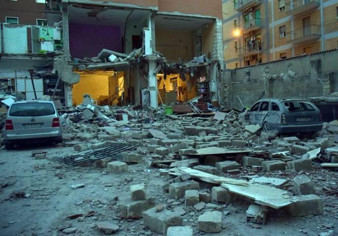 Foggia, due morti e quattro feriti per lo scoppio di una palazzina