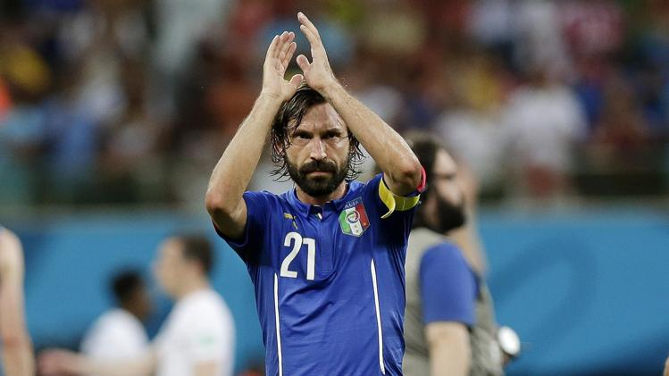 """Mondiali 2014, gli azzurri tornano in Italia. Sorpresa di Pirlo: """"Se il ct avrà bisogno di un centrocampista e mi chiamerà, verrò sempre volentieri"""""""