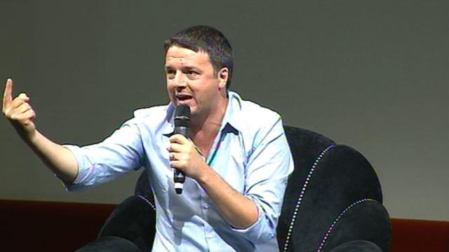 """Trento, Renzi annuncia l'operazione """"sblocca Italia"""" per far ripartire tutte le opere ferme. Ultimatum ai comuni"""