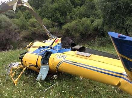 Rieti, precipita elicottero antincendio: muore il pilota e uno dei tecnici a bordo. Una terza persona ferita.