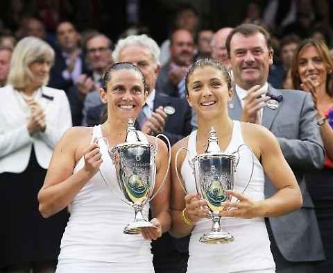 Wimbledon,  Sara Errani e Roberta Vinci nella storia: battute Babos-Mladenovic. La prima volta per l'Italia