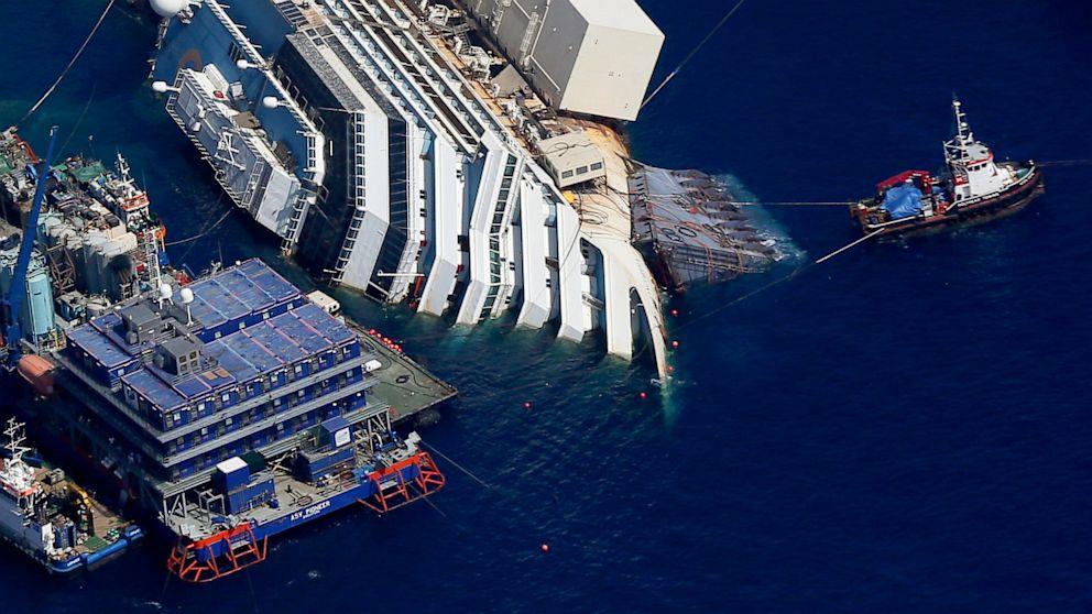 """Isola del Giglio, Porcellacchia: """"La Costa Concordia andrà via lunedì. Il fondo marino è rimasto integro"""""""