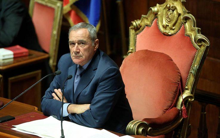 Riforme, al Senato si litiga sul 'canguro' che elimina in blocco 1400 emendamenti, scontro Grasso-Grillini