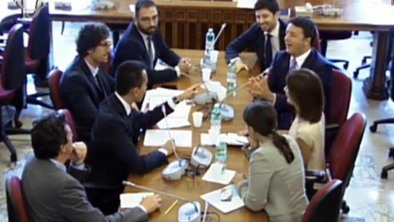 """Riforme istituzionali, nuovo incontro Pd – M5S. Di Maio. """"Con i nostri voti, insieme al Pd, gli italiani avranno le preferenze nella legge elettorale"""""""