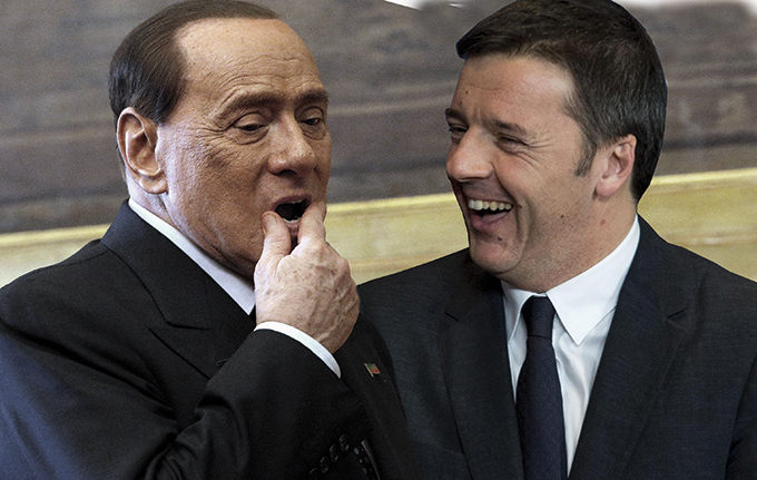 Riforme, incontro di tre ore a Palazzo Chigi tra Renzi e Berlusconi. Il patto sull'Italicum si allarga ad Afano