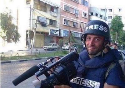 Gaza, esplode missile israeliano: muore il giornalista romano dell'Ap Simone Camilli. Era sempre in prima linea in Medio Oriente