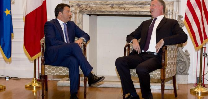 """Lavoro, Renzi avverte: """"Non ci sara' alcun pasticcio"""" """"Non temo i poteri forti temo i pensieri deboli"""""""