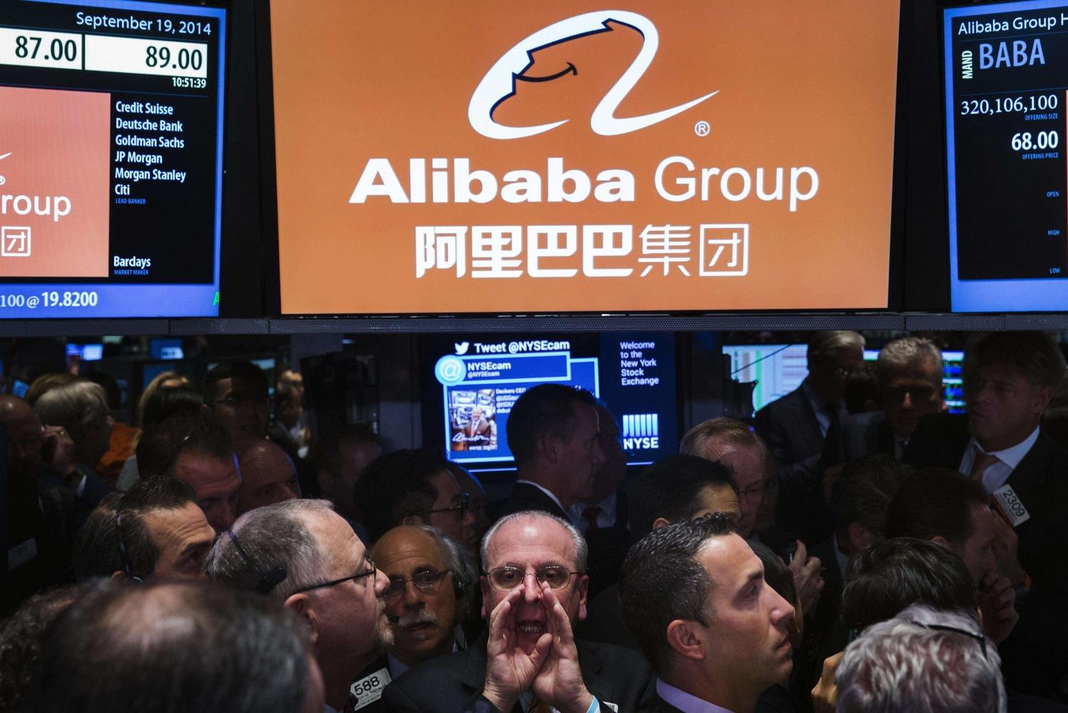 """Alibaba incanta Wall Street: quotazione record per il gigante cinese dell'e-commerce. Vale 200 mld, Jack Ma: """"Il mio eroe e' Forrest Gump"""""""
