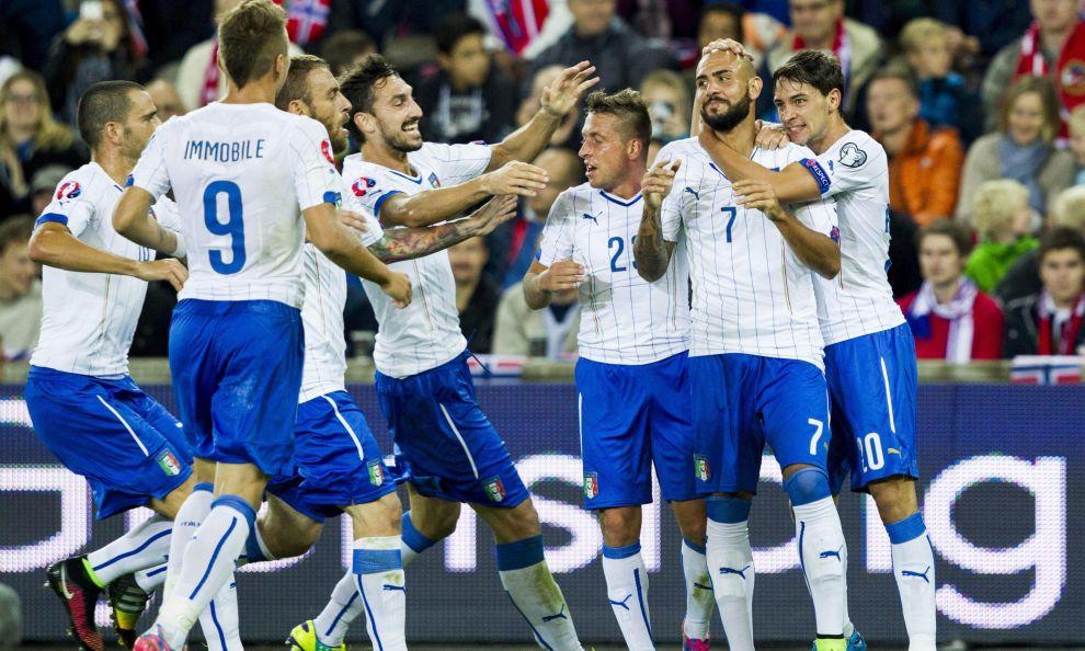 L'Italia di conte vince e convince, Norvegia battuta con gol di Zaza e Bonucci