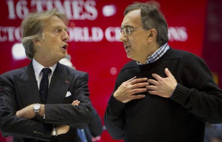"""Ferrari, Marchionne contro Montezemolo: """"Tutti sono necessari e nessuno è indispensabile. Non vinciamo dal 2008″"""