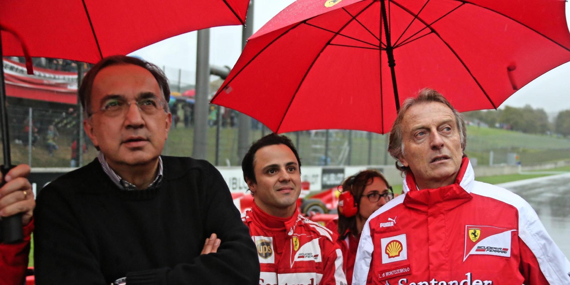 Divorzio Ferrari e montezemolo. Marchionne presidente,  il titolo vola in borsa