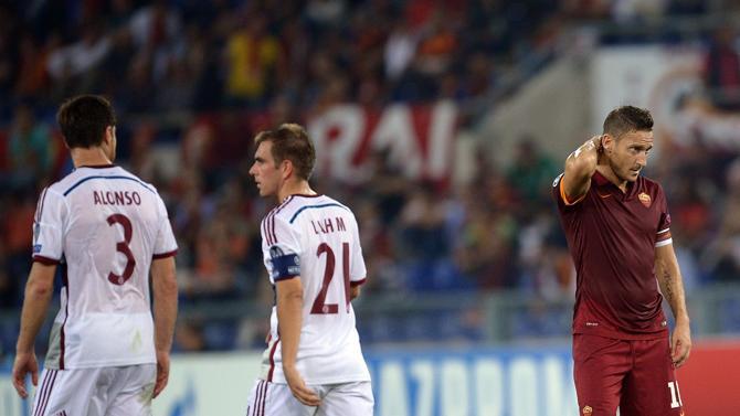 Champions League, la Roma umiliata in casa dal Bayern Monaco: 1-7 il risultato finale