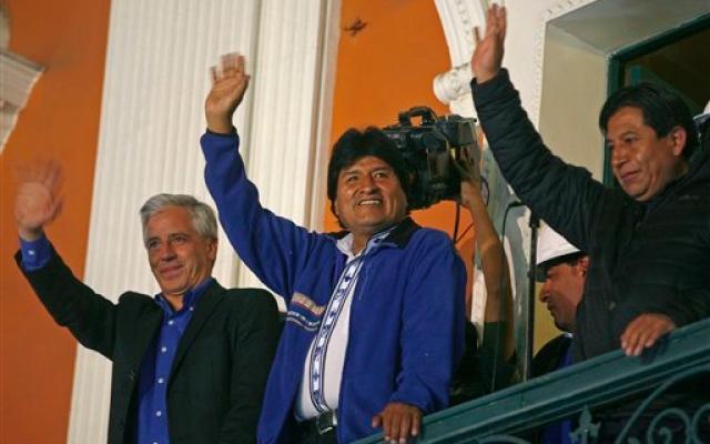 Bolivia: trionfo di Morales alle elezioni presidenziali. E' al terzo mandato con il 60% dei voti