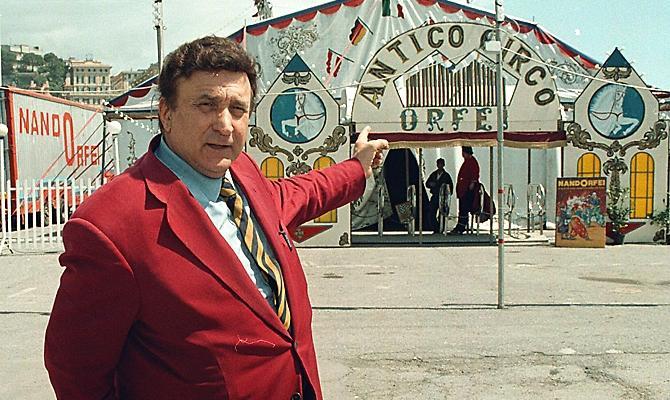 Mondo del circo in lutto: muore Nando Orfei, storico protagonista del circo e del cinema italiano