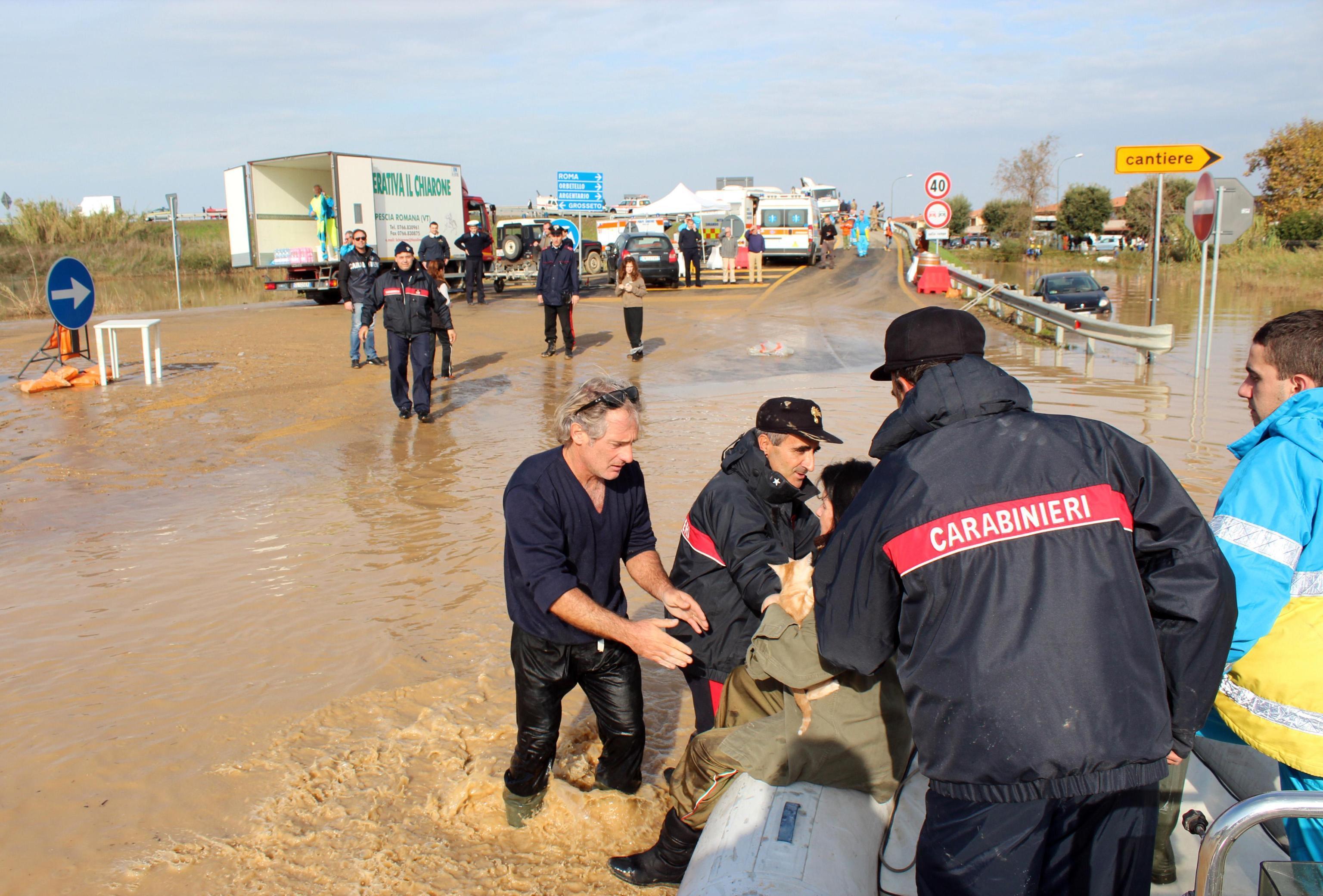 Maremma: continuano i danni a causa del maltempo. Due sorelle morte travolte dall'acqua