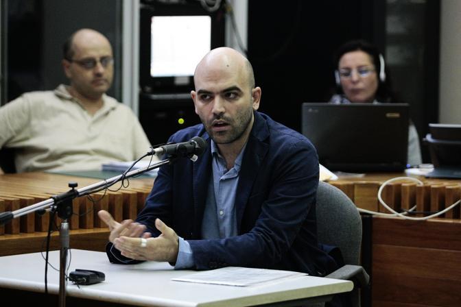 """Minacce a Saviano, il giornalista torna in aula. Gli avvocati dei boss alla Corte: """"Doveva essere competente il Tribunale di Roma"""""""