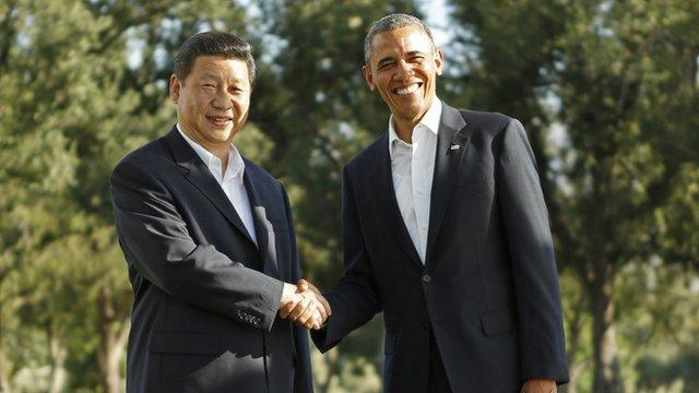 Gas serra, Stati Uniti e Cina firmano a Pechino un accordo storico per limitarli: fissata per la prima volta una riduzione del 25-28% entro il 2025