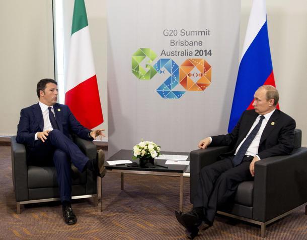 """Summit del G20 a Brisbane, Renzi su twitter: """"Austerità non basta, servono investimenti e riforme"""""""